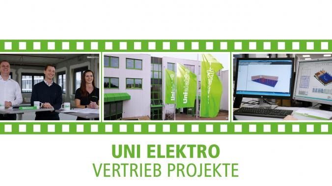 UNI ELEKTRO Detailclip - Vertrieb Projekte
