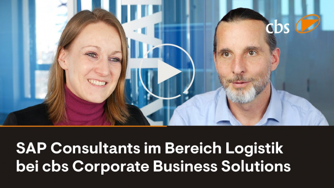 SAP Consultants im Bereich Logistik bei cbs