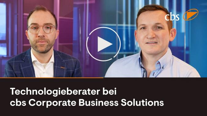 Technologieberater bei cbs - Bastian Schiele & Benedikt Bogar