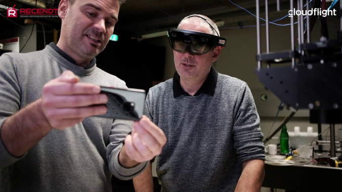 AR (Augmented Reality) meets NDT (Non-Destructive Testing)