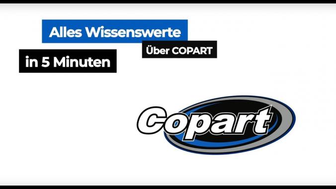Alles Wissenswerte über Copart in 5 Minuten!
