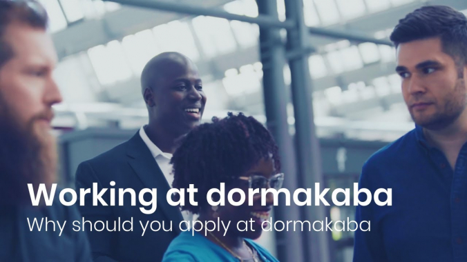 Working at dormakaba: Why should you apply at dormakaba