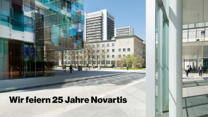25 Jahre Novartis - So reagierte die Welt auf die Megafusion | Novartis Schweiz