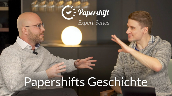 Papershifts Geschichte - mit Michael Emaschow, Papershift CEO | Papershift Expert Series