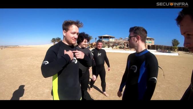 SECUINFRA Teamevent 2018 Januar - Soma Bay, Ägypten