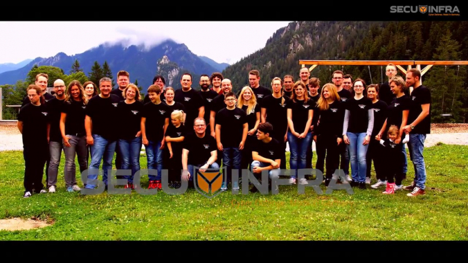 SECUINFRA Teamevent 2017 August - Eibsee