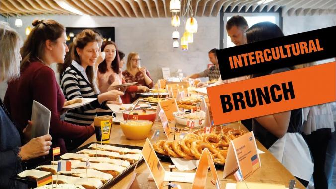 Intercultural Brunch bei SIXT