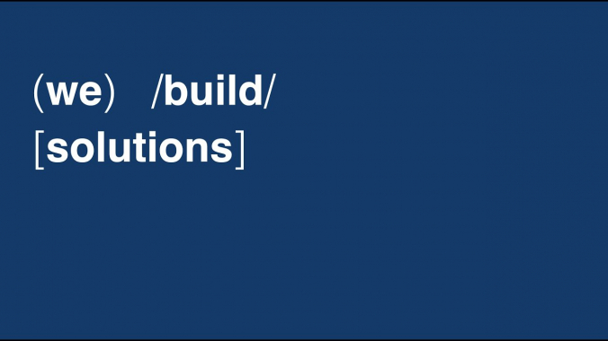 (we)   /build/   [solutions]