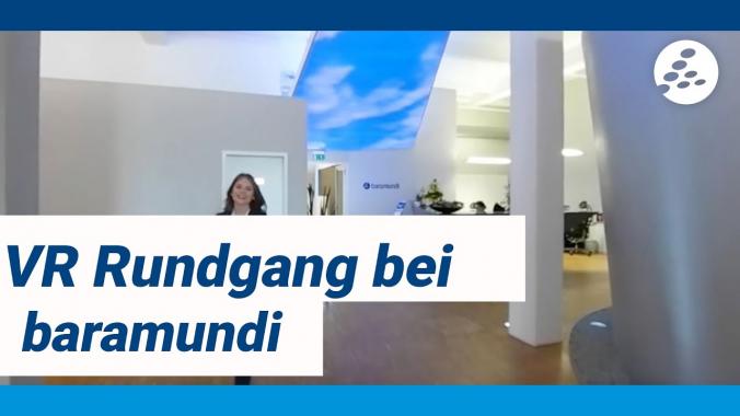 baramundi VR-Rundgang mit Franziska
