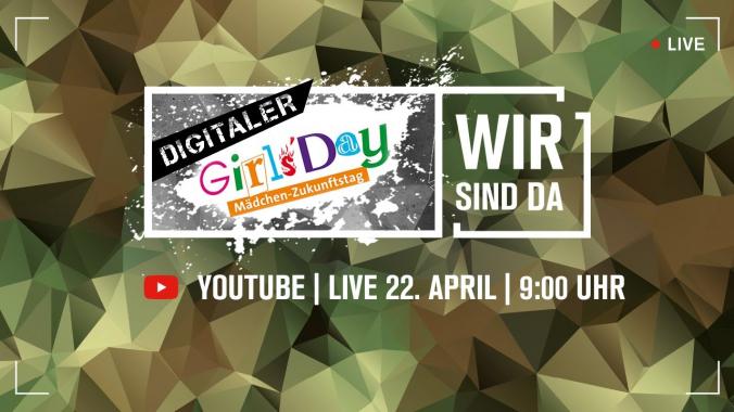 Digitaler Girls' Day der Bundeswehr | LIVE vom 22. April 2021