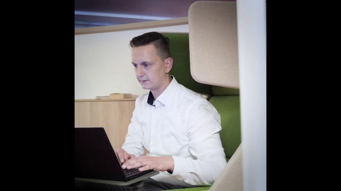 Ingenieur bei der DRV Bund - Florian