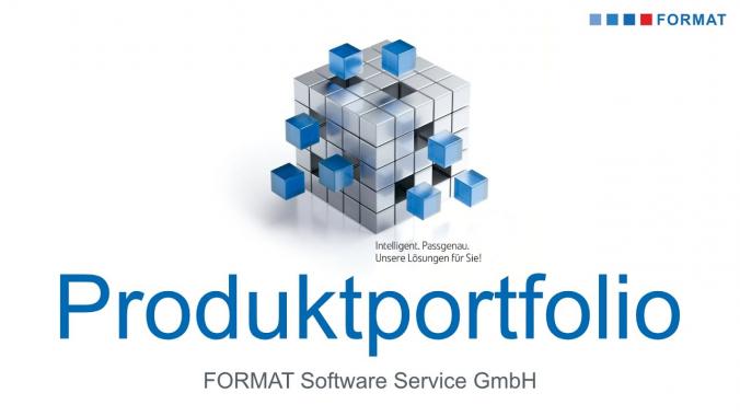 Produktportfolio der FORMAT Software Service GmbH