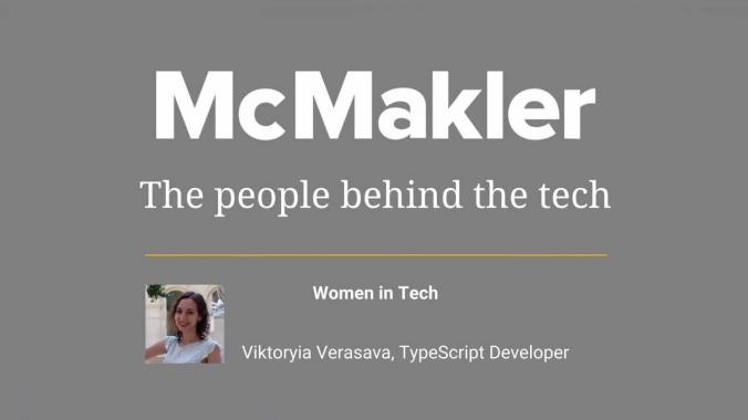 McMakler: The People Behind The Tech - Viktoryia Verasava