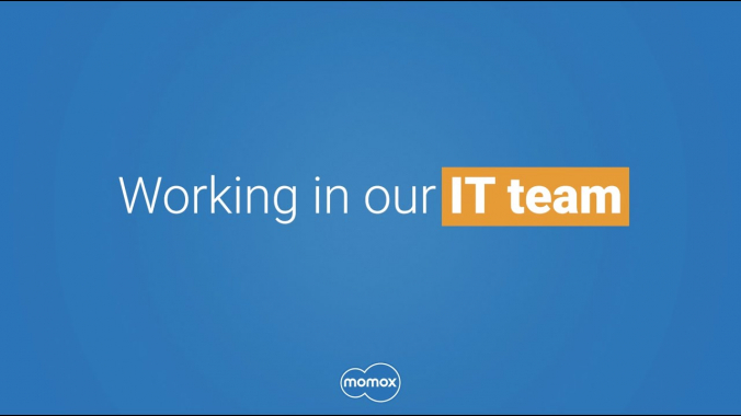 Working in the IT team @ momox