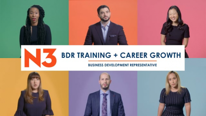 BDR Training + Career Growth