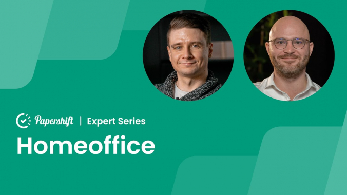 Homeoffice - mit Michael Emaschow, Papershift CEO | Papershift Expert Series