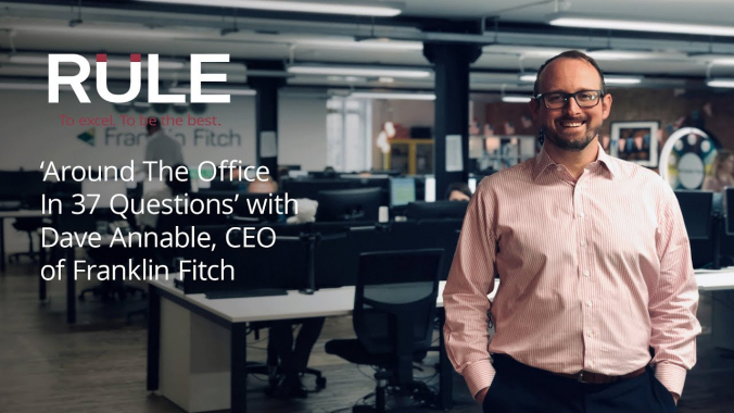 David Annable of Franklin Fitch   Around the Office in 37 Questions