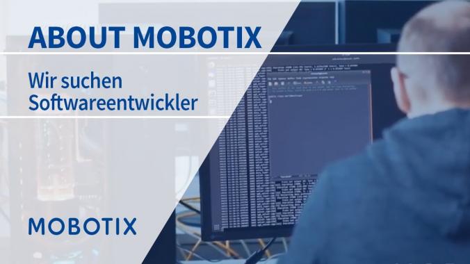 Wir suchen DICH! Softwareentwickler/in bei MOBOTIX