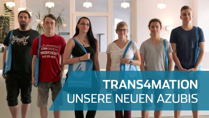 Unsere 6 neuen Azubis   Vorstellungsvideo   Trans4mation