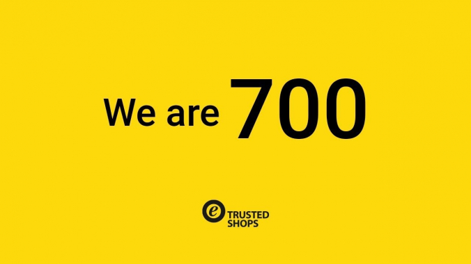 Trusted Shops – We are 700!