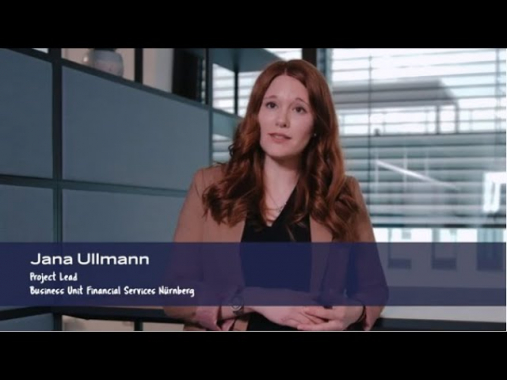 Meet the AUSY team: Jana - Project Lead Business Unit Financial Services
