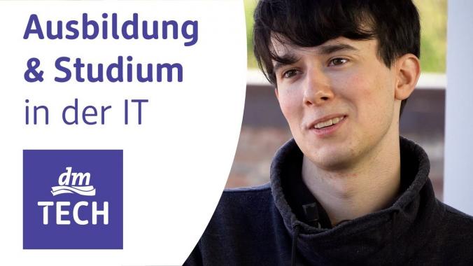 Ausbildung und duales Studium in der IT bei dmTECH