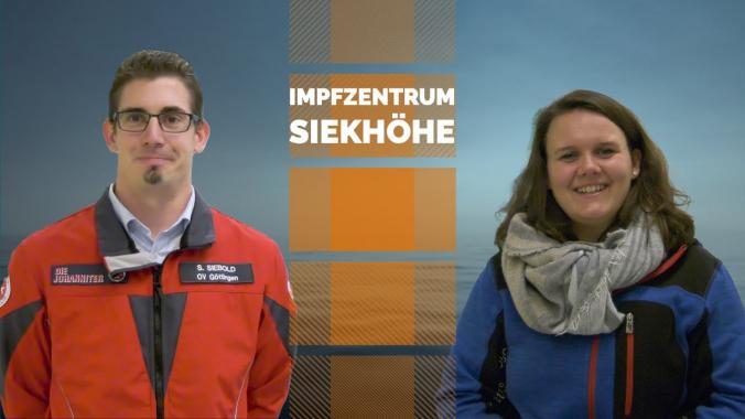ZUFALL unterstützt bei Aufbau des Impfzentrum Siekhöhe in Göttingen