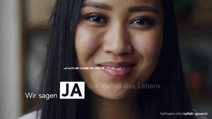 Vielfalt gewinnt - eine Initiative von Hofmann Personal