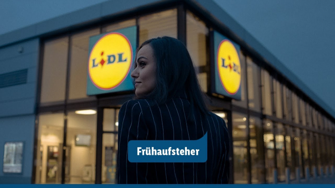 Lidl Frühaufsteher