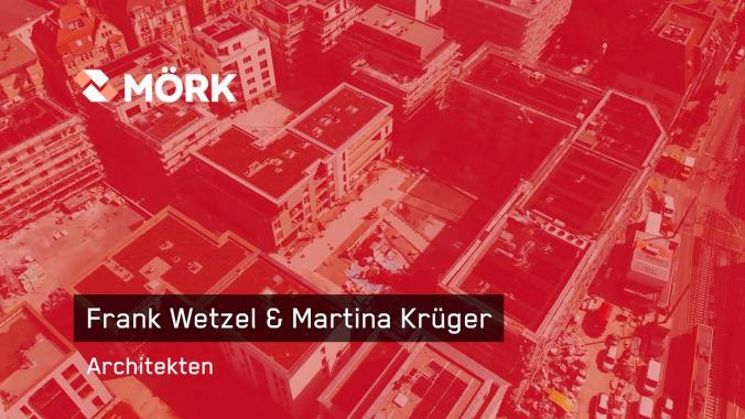 Mitarbeitervideo Frank Wetzel und Martina Krüger, Architekten im Industrie- und ...