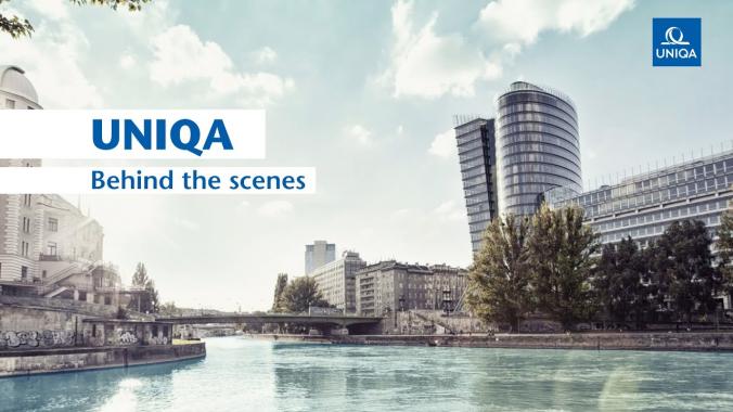 UNIQA - Behind the scenes