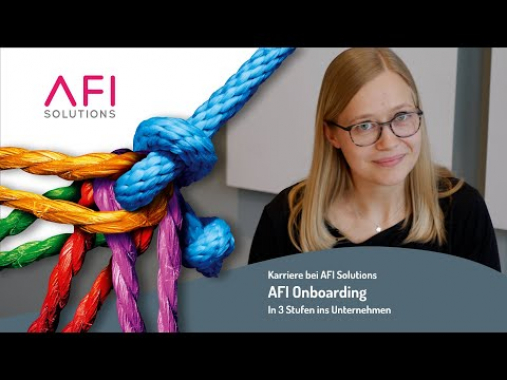 Karriere bei AFI Solutions: Welcome Onboarding
