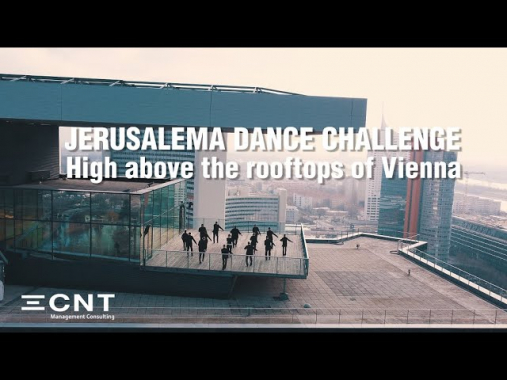 Jerusalema Dance Challenge | CNT Management Consulting | High above the rooftops of Vienna