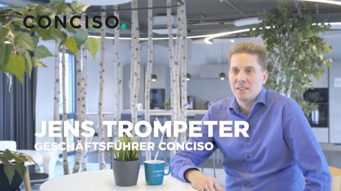 Sich permanent weiterzuentwickeln...   Jens Trompeter   Geschäftsführer bei Conciso.