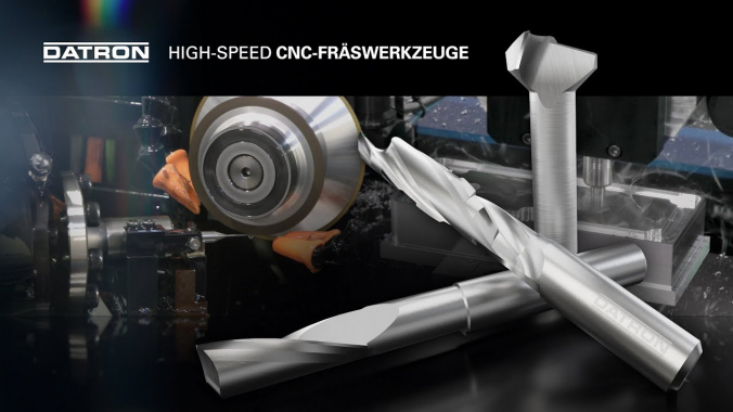 DATRON High-Speed CNC-Fräswerkzeuge
