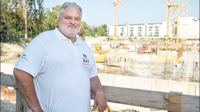 Bauleiter Christian Holler zur Einzigartigkeit des Gartenparks Korneuburg