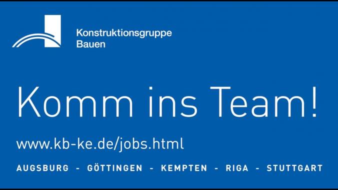 Wir suchen dich! - Bereich Brückenbau