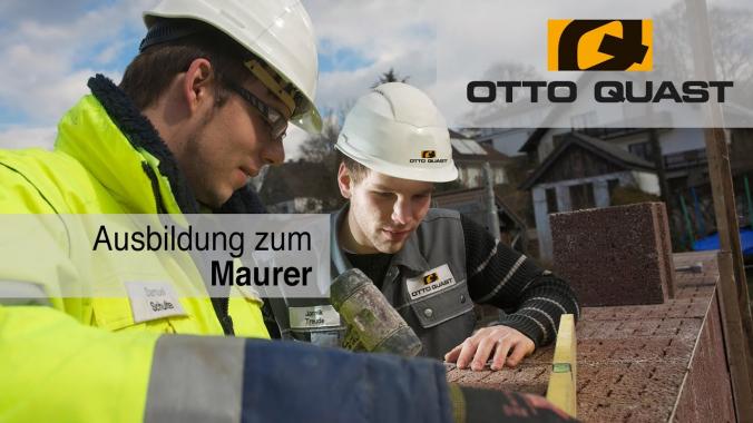 Ausbildung zum Maurer bei OTTO QUAST