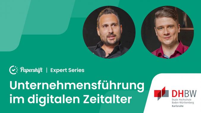 Unternehmensführung im digitalen Zeitalter!? - mit Prof. Dr. Stefan Kolb | Papershift ...