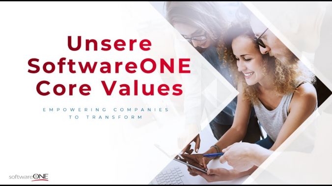 Unsere 7 Core Values bei SoftwareONE