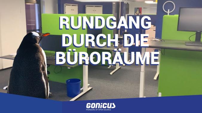 GONICUS Rundgang durch die Büroräume