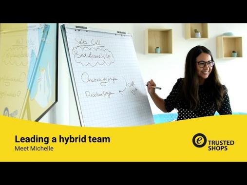 Leading a hybrid team – Meet Michelle