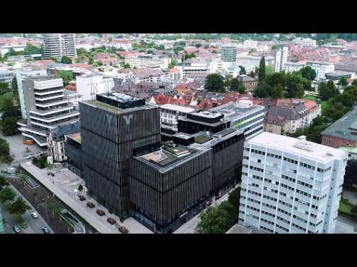 Volksbank-Areal in der Entstehung
