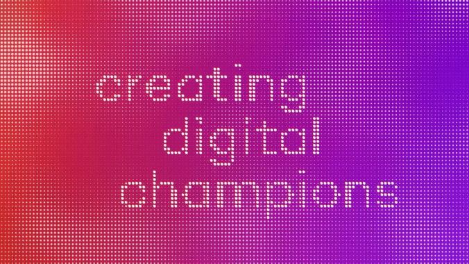 CREATING DIGITAL CHAMPIONS   diconium