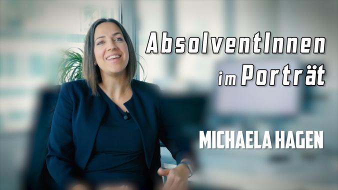 Michaela Hagen - Absolventin der FH Technikum Wien