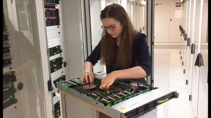 Anne – Ausbildung zur Fachinformatikerin (Systemintegration)