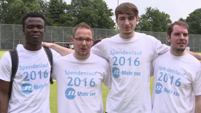 Mahr EDV Spendenlauf im OSZ IMT
