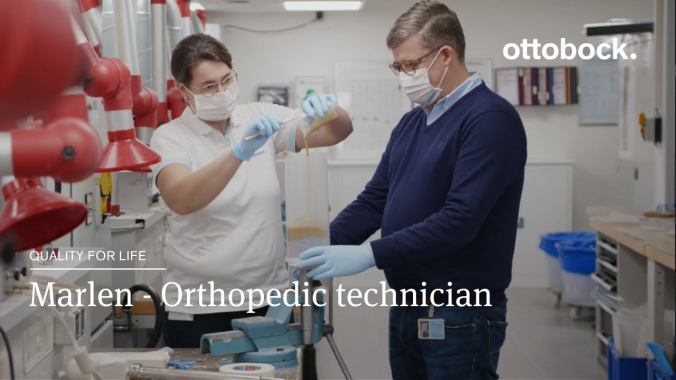 Marlen - Orthopedic technician   Ottobock