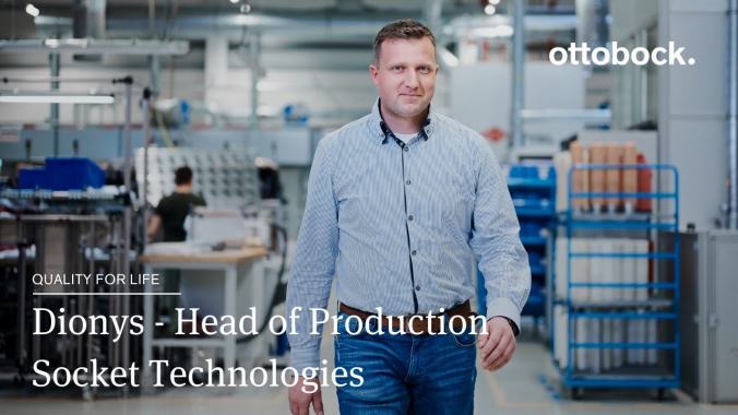 Dionys - Head of Production Socket Technologies   Ottobock