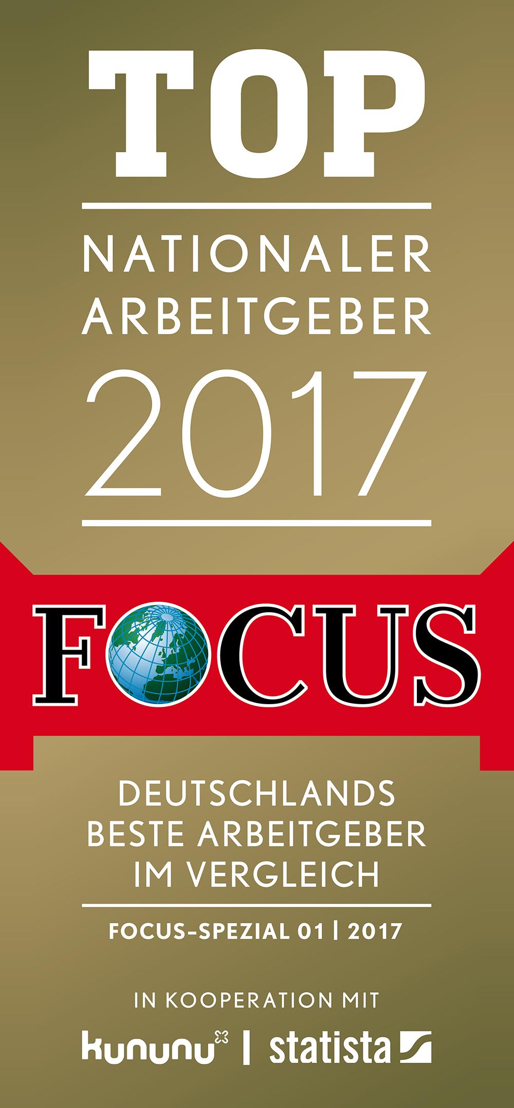 Focus Top Arbeitgeber
